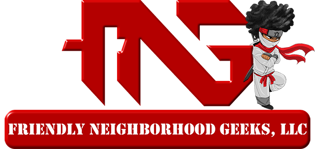 Friendly Neighborhood Geeks | FNG Logo